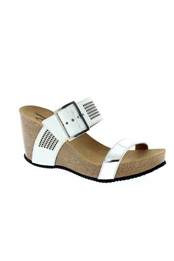 reqins chaussures femme de couleur blanc