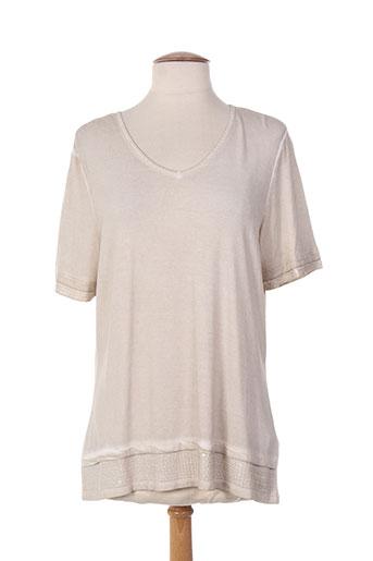 lebek t-shirts / tops femme de couleur beige