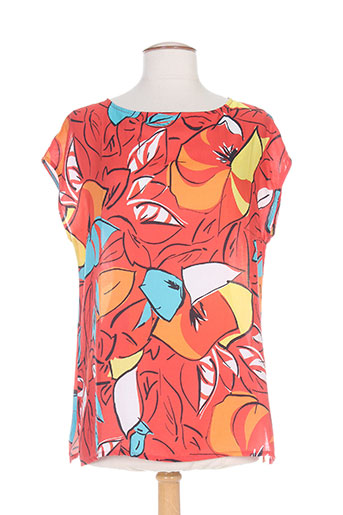maria bellentani chemises femme de couleur rouge