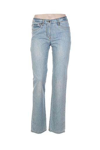 jocavi jeans femme de couleur bleu