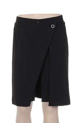 paul brial shorts / bermudas femme de couleur noir