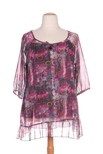 mellem chemises femme de couleur rose