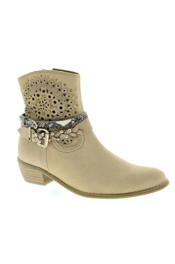 mam'zelle chaussures femme de couleur beige