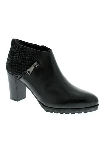 mitica chaussures femme de couleur noir