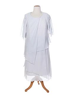 Robe mi-longue gris JEAN DELFIN pour femme