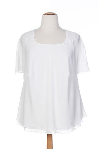 jean delfin chemises femme de couleur blanc