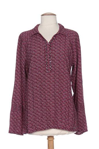 cecil chemises femme de couleur violet
