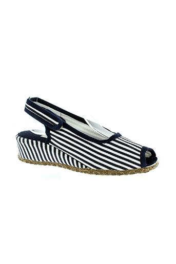pifer chaussures femme de couleur bleu