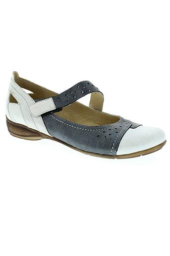 geo-reino chaussures femme de couleur bleu