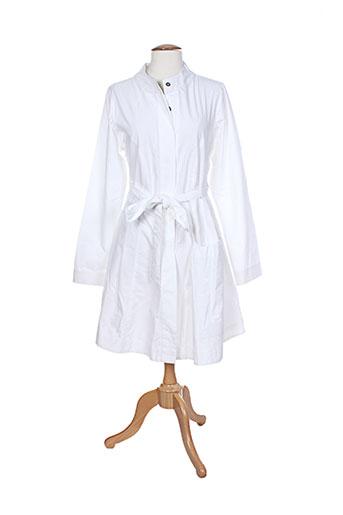 hebbeding manteaux femme de couleur blanc