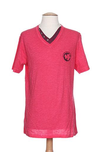 la squadra t-shirts homme de couleur rose
