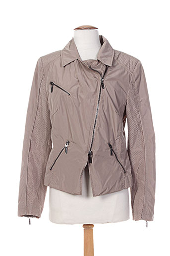 rofa fashion group vestes femme de couleur marron