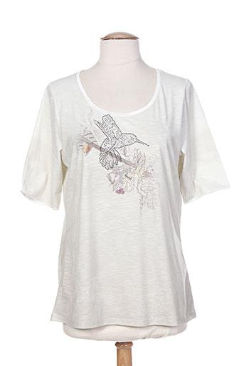 lecomte t-shirts femme de couleur beige