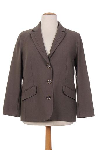weinberg vestes femme de couleur marron