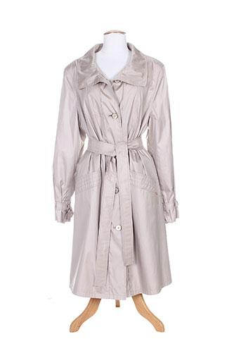 baronia manteaux femme de couleur gris