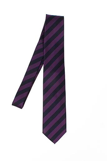 mac-ty accessoires homme de couleur violet