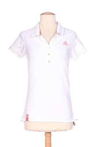 jn-joy t-shirts femme de couleur blanc