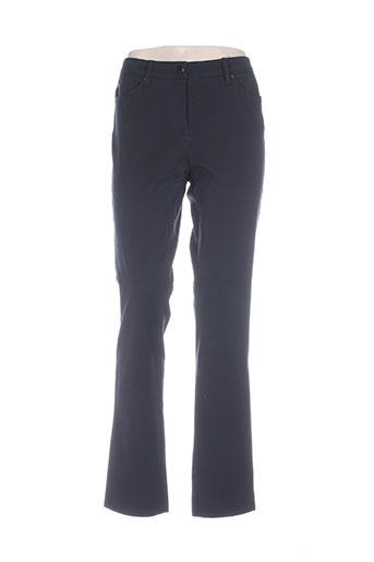 gerke my pants pantalons femme de couleur bleu