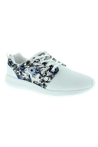 treeker 9 chaussures femme de couleur blanc