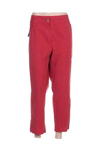 quattro pantacourts femme de couleur rouge