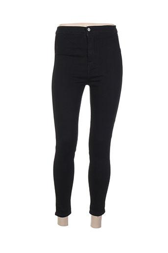 alcott pantalons femme de couleur noir