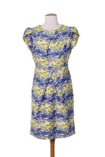 darling robes femme de couleur jaune