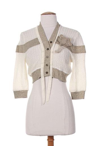 carlopik vestes femme de couleur beige