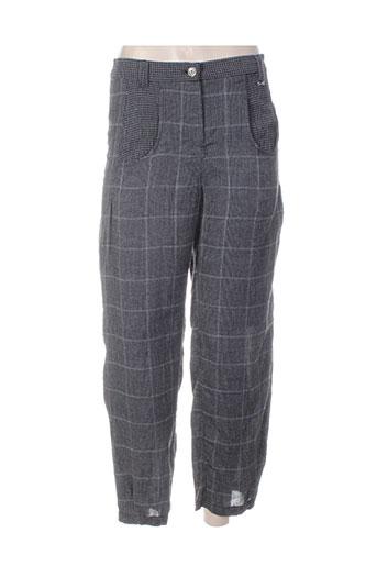 Pantalon casual gris A DRESS CONCEPT pour femme