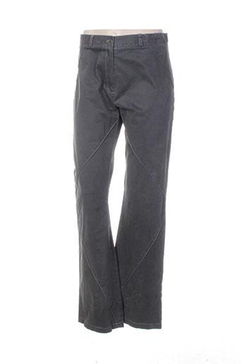 Pantalon casual gris BASKERVILLE & ME pour femme