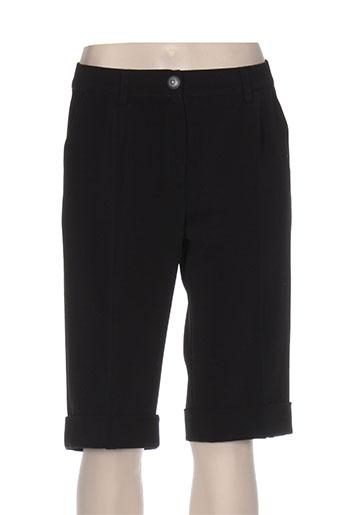 fred sabatier shorts / bermudas femme de couleur noir