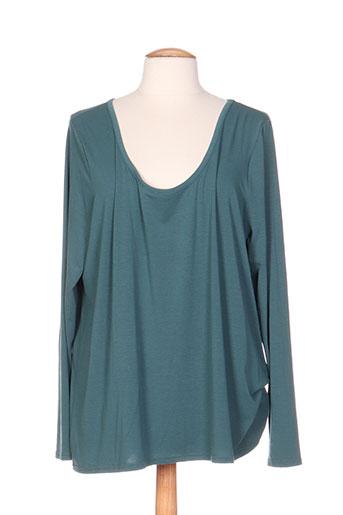 mellem chemises femme de couleur vert