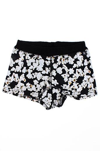 molo shorts / bermudas fille de couleur noir