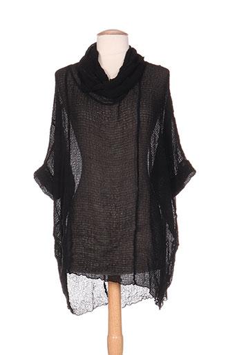 grizas t-shirts / tops femme de couleur noir