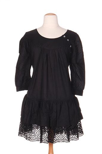 hebbeding tuniques femme de couleur noir
