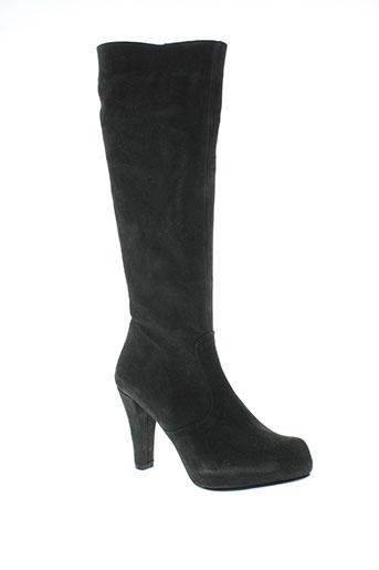 catherine parra chaussures femme de couleur noir