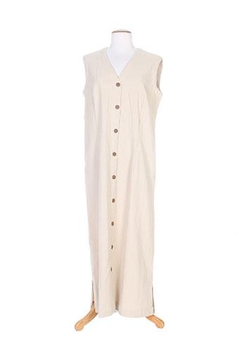 yampa robes femme de couleur beige