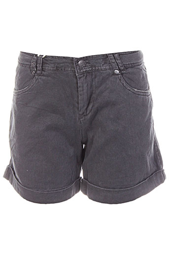 teddy smith shorts / bermudas fille de couleur gris