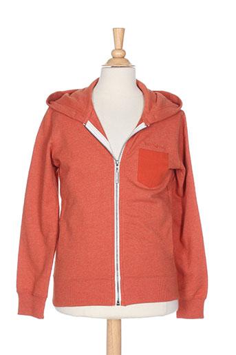 teddy smith vestes garçon de couleur orange