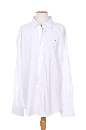 eden park chemises homme de couleur blanc