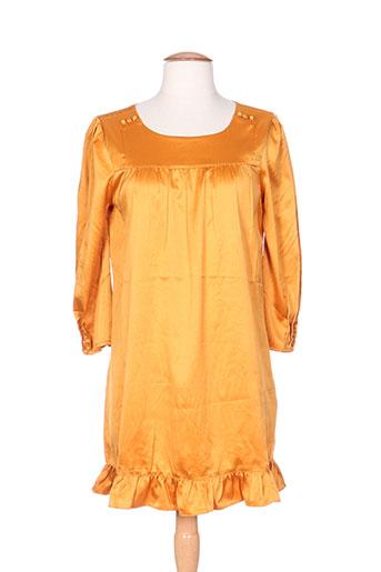 vila tuniques femme de couleur orange