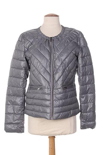 intown manteaux femme de couleur gris