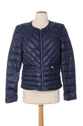 intown manteaux femme de couleur bleu