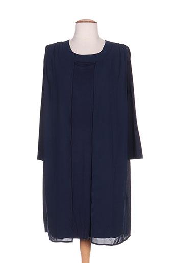 intown robes femme de couleur bleu