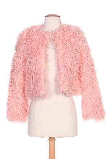 clp vestes femme de couleur rose