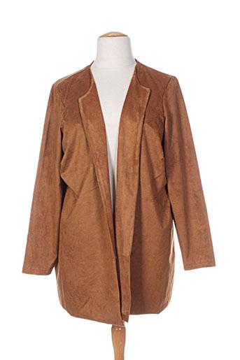 yest vestes femme de couleur marron
