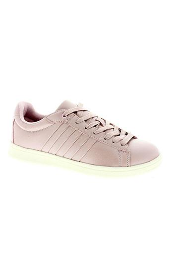 ichi chaussures femme de couleur rose