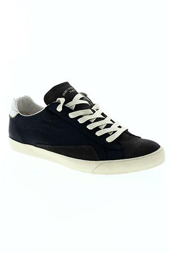 0-105 chaussures homme de couleur bleu