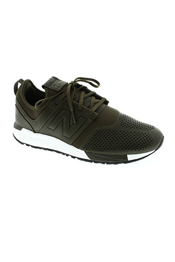 new balance chaussures homme de couleur vert