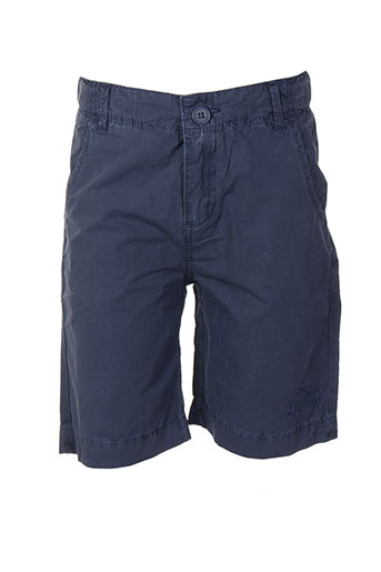 pepe jeans shorts / bermudas garçon de couleur bleu