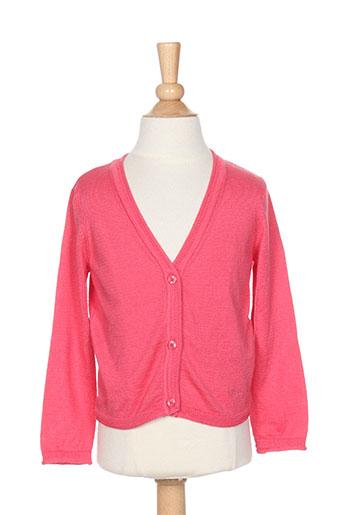 pepe jeans gilets fille de couleur rose
